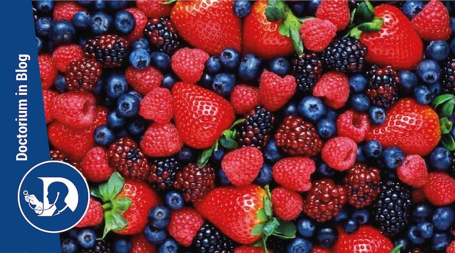 Fragole e frutti rossi effetti benefici sull'obesità